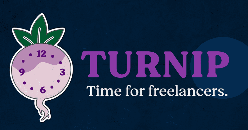 Turnip: Time tracking for freelancers.